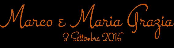 Marco e Mariagrazia, matrimonio, sposi